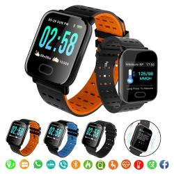 Smart Watch Fitness Monitor Armband Armband Orange