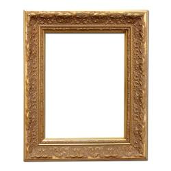 10x13 cm eller 4x5 tum, fotoram i guld Brun