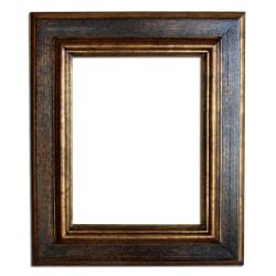 13x18 cm eller 5x7 ins, fotoram i guld Guld