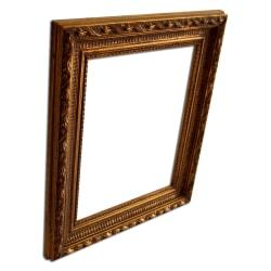 15x20 cm eller 6x8 tum, fotoram i guld Guld