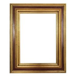 30x40 cm eller 12x16 tum, fotoram i guld Guld