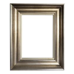 30x40 cm eller 12x16 tum, STOR fotoram i silver Silver