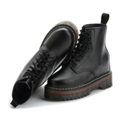 Boots i äkta skinn Black 39