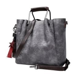 Handväskan i grå LAMM2021, 33x26x15 cm grå one size