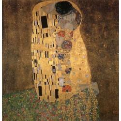 Kiss,Gustav Klimt,50x50cm multifärg