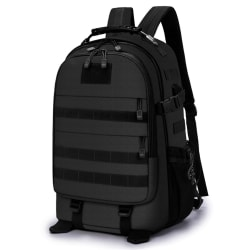 Ryggsäcken i svart, 49x36x20 cm Svart one size