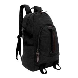 Svart ryggsäcken i slitstark tyg Svart one size