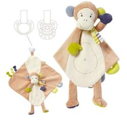 Monkey Snuttefilt Deluxe
