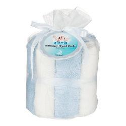 Tvättlappar Bambu 10-pack Blå