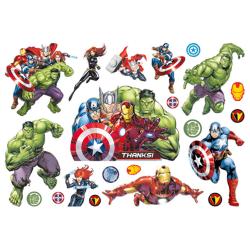 Avengers 10 st barntatueringar tatuering hulk iron man