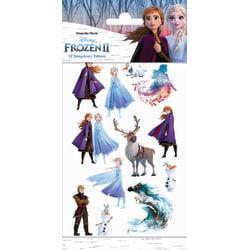 Frozen II 12 st barntatueringar tatuering frost