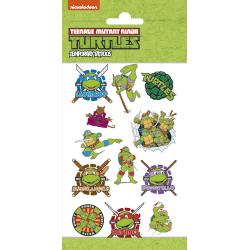 Ninja turtles 12 st barntatueringar tatuering mutant teenage