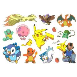 Pokemon 13 st barntatueringar tatuering pokémon