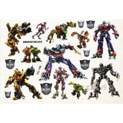 Transformers 14 st barntatueringar tatuering bumble bee