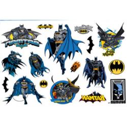 Batman 15 st barntatueringar tatuering