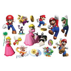 Super Mario 15 st barntatueringar tatuering nintendo