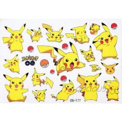 Pokemon 16 st barntatueringar tatuering pokémon