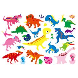 Dinosaurier 18 st barntatueringar tatuering dinosaurie