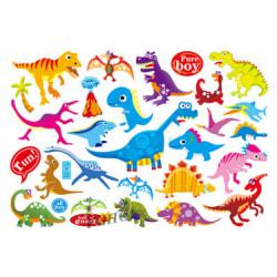 Dinosaurier 20 st barntatueringar tatuering dinosaurie