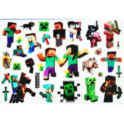Minecraft 20 st barntatueringar tatuering
