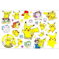 Pokemon 20 st barntatueringar tatuering pokémon