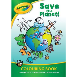 Crayola målarbok 24 sidor Save the Planet