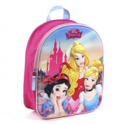 Disney Princess 3D ryggsäck 31 cm rygga väska skolväska