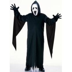 Spökdräkt med mask Howling Ghost (5-7 år) Halloween