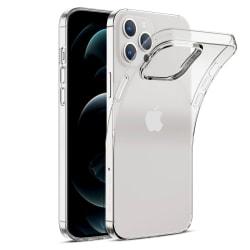 Silikonskal för iPhone 12 PRO MAX Transparent Transparent