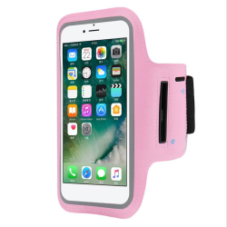 Sportarmband för iPhone 12 Rosa Rosa