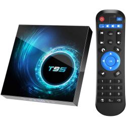 6K Android 10.0 HD Smart TV Box 2GB + 64GB