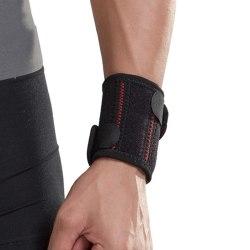 Anpassningsbart handledsskydd - Svart & rött Svart