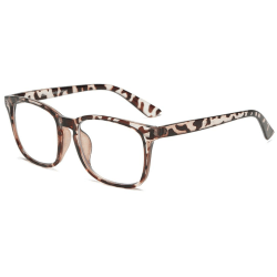 Anti-bluelight glasögon - Leopard Brown