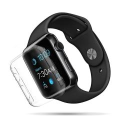 Apple Watch 42mm Serie 2/3 heltäckande skärmskydd - transparent Transparent