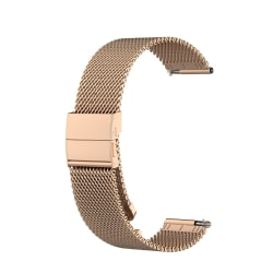 Garmin VivoActive 3 / Move / HR (20 mm) armband Rostfritt stål R Guld