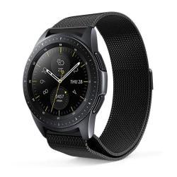 Armband Samsung Galaxy Watch 42mm Gear Sport Milanesisk - svart