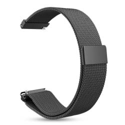 Armband Samsung Gear S3 Classic/S3 Frontier 22 mm milanesisk loo Svart