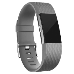 Armband till Fitbit Charge 2 - Grå - Small