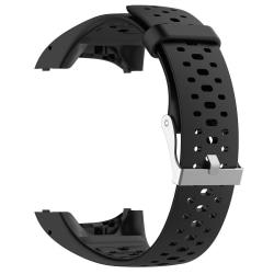 Polar M400 / M430 träningsklocka armband silikon Svart Svart one size