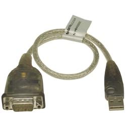 ATEN USB till seriell adapter RS-232 DB9ha Vit
