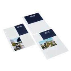 BANTEX Fotofickor 10x15,10 st Vit, Stående Vit