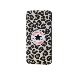 CONVERSE Mobilfodral Canvas iPhone 6/6S Leopard