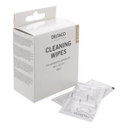 DELTACO Office rengöringsdukar, 1förp 52st dukar