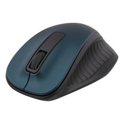 DELTACO trådlös optisk mus 2,4GHz, 3 knappar med scroll, blå