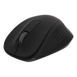 DELTACO trådlös optisk mus 2,4GHz, 3 knappar med scroll, svart
