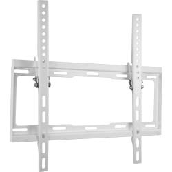 """DELTACO Väggfäste, 32-55"""", 35 kg, tilt 14, VESA 75x75-400x400mm, Vit"""
