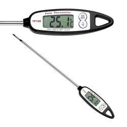 Digital stektermometer / grilltermometer Svart