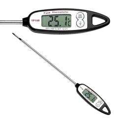 Digital stektermometer / grilltermometer Svart/Silver