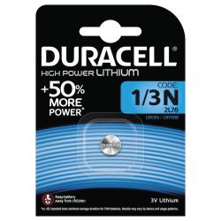 Duracell 1/3N Lithium High Power Battery, 1pk