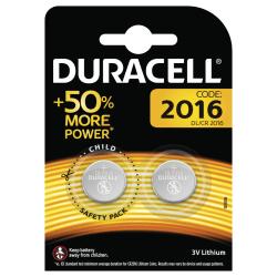 Duracell 2016 Batteries, 2pk